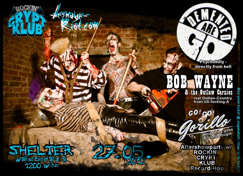 Demented Are Go Support 2012