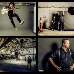 Band Shooting in abandoned factory in Schwanenstadt (Upper Austria)